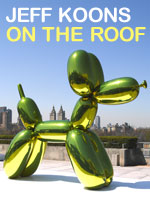 Jeff Koons on the roof