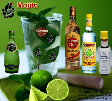 Mojito du Ganesh Lounge